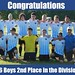 Congratulations to the All-IN FC U16 Boys for coming in 2nd place in their division