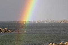Sous l'arc-en-ciel - Under the rainbow (Mhyrdin) Tags: arcenciel rainbow finistère aberwrach bretagne