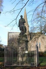 Robert Burns Statue,Queen Elizabeth II Field,Montrose_nov 19_588 (Alan Longmuir.) Tags: queenelizabethfield robertburnsstatue tayside montrose