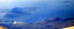 Farewell Greece, hello Albania (oobwoodman) Tags: aerial aerien luftaufnahme luftphoto luftbild caigva greece grèce griechenland hellas albania albanien albanie shqipëria corfu ioniansea