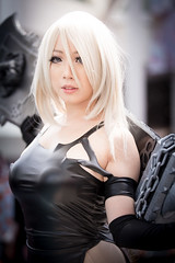 Anime Expo 2019 301 (shotwhore photography) Tags: animeexpo2019 ax2019 losangelesconventioncenter animeconvention cosplayconvention cosplay marikocosplay a2 nierautomata