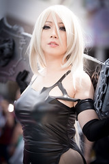 Anime Expo 2019 299 (shotwhore photography) Tags: animeexpo2019 ax2019 losangelesconventioncenter animeconvention cosplayconvention cosplay marikocosplay a2 nierautomata
