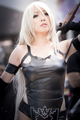 Anime Expo 2019 297 (shotwhore photography) Tags: animeexpo2019 ax2019 losangelesconventioncenter animeconvention cosplayconvention cosplay marikocosplay a2 nierautomata