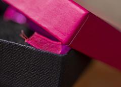 Box (Helen Orozco) Tags: macromondays lids giftbox macro hmm crdboard pinkandblack lid