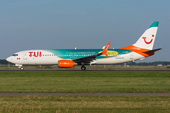 """C-FDBD - TUI Netherlands (Sunwing Airlines) - Boeing 737-8Q8(WL) - """"Sunny Cars"""" special colours (5B-DUS) Tags: cfdbd tui netherlands sunwing airlines boeing 7378q8wl sunnycars special colours b738 ams eham amsterdam schiphol airport airplane aircraft aviation flughafen flugzeug planespotting plane spotting"""