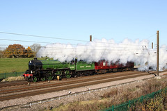 smoking can seriously damage your `picture` (Dan-Piercy) Tags: lner thomson b1 61306 mayflower chalonerswhin askhambar 5z22 york railwaymuseum southall wcr lightengine move ecml