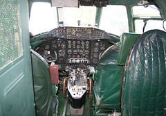 IMG_3155 (Rivet Joint) Tags: vickers viscount galwf cockpit