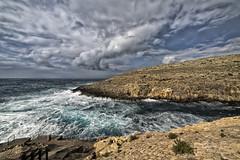 Troubled sea, 2019 (Ant Sacco) Tags: sea waves malta zurrieq wiedizzurrieq qrendi
