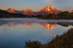 Autumn Morning On The Snake (chasingthelight10) Tags: events photography travel landscapes mountains meadows rivers sunrise sunset grandtetonnationalpark places wyoming oxbowbend willowflats