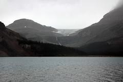 Distant Waterfall (JB by the Sea) Tags: banff banffnationalpark alberta canada september2019 rockies rockymountains canadianrockies icefieldsparkway highway93 bowlake