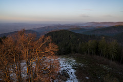 Black Forest (HelBen85) Tags: hochblauen black forest schwarzwald autumn germany bw sunset sunrise sony alphaddicted a7riii travel hiking light view point 24mm gm 14