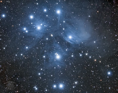 M45 - The Pleiades Cluster (Dark Arts Astrophotography) Tags: astrophotography astronomy asi1600mc nikon space sky stars star science night nature natur nebula nightsky ngc astrometrydotnet:id=nova3758486 astrometrydotnet:status=solved