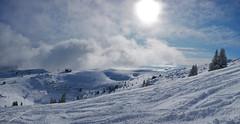 Margériaz - Savoie (Lumières Alpines) Tags: didier bonfils goodson goodson73 lumieres alpines europa outside rando mountain montagne automne sky ciel bleu blue cloud neige snow soleil savoie margeriaz ski