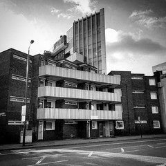 Limehouse (Flamenco Sun) Tags: flats socialhousing architecture london