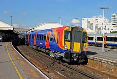 458516 458512 Clapham Junction (CD Sansome) Tags: south west trains stagecoach train london 458 juniper station clapham junction 458516 458512