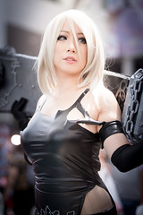 Anime Expo 2019 300 (shotwhore photography) Tags: animeexpo2019 ax2019 losangelesconventioncenter animeconvention cosplayconvention cosplay marikocosplay a2 nierautomata