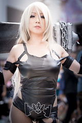 Anime Expo 2019 298 (shotwhore photography) Tags: animeexpo2019 ax2019 losangelesconventioncenter animeconvention cosplayconvention cosplay marikocosplay a2 nierautomata