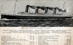 RMS Olympic, Cruise Ship, White Star Line (photolibrarian) Tags: rmsolympic cruiseship whitestarline