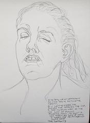 Quickie (Wayne Wolfson) Tags: drawing sketch quicksketch waynewolfson art emotion