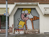 Street Art by Kid 30 (anthsnap!) Tags: nottingham nottinghamshire streetart bartsimpson kid30