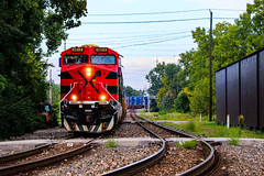 Borderline Personality (BravoDelta1999) Tags: ferromex fxe railroad csxt csx transportation newyorkcentral nyc railway bigfour cccstl indianapolisline indianapolis indiana ge es44ac 4619 q131 intermodal train