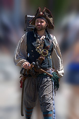 Pirate Outfit (Scott 97006) Tags: pirate man costume male guy outfit hat belt sword scabbard