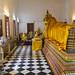 The stunning reclining Buddha at Wat Poramai Yikawat in Ko Kret, Nonthaburi near Bangkok 2