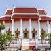 The main temple hall at Wat Poramai Yikawat in Ko Kret, Nonthaburi near Bangkok 1