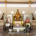 A shrine at Wat Poramai Yikawat in Ko Kret, Nonthaburi near Bangkok 1