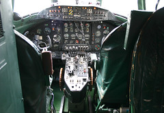IMG_3154 (Rivet Joint) Tags: vickers viscount galwf cockpit