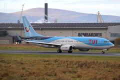 TUI Airlines Belgium OO-TUP BHD 17/11/19 (ethana23) Tags: planes planespotting aviation avgeek aircraft aeroplane boeing 737 737800 airplane tui belgium