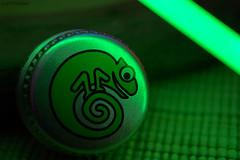 . chamäleon (. ruinenstaat) Tags: macromondays lids tumraneedi ruinenstaat chamäleon light green macro
