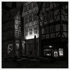 Once Upon A Time in Quedlinburg (II) (Maximilian Busl) Tags: deutschland quedlinburg sachsenanhalt light architecture fairytale buildings germany evening mood hasselblad romantic 500cm zeiss cfv50c