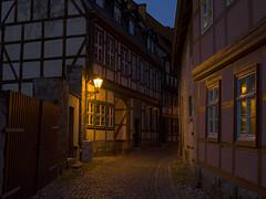 Once Upon A Time in Quedlinburg (III) (Maximilian Busl) Tags: deutschland quedlinburg sachsenanhalt light architecture fairytale germany evening mood romantic zeiss buildings hasselblad 500cm cfv50c