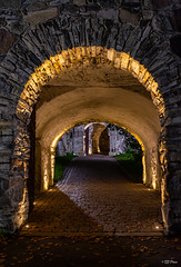 Portals (thore.bryhn) Tags: night portals entrance fortress kongsvinger