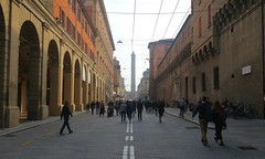 Bologna, Italy (nature chief) Tags: italy bologna asinelli view イタリア ボローニャ tower street