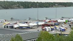 Trailers (skumroffe) Tags: trailers trucks lastbilar camion lkw lorries portofnynäshamn nynäshamnport nynäshamnshamn port hamn harbour harbor nynäshamn stockholm sweden