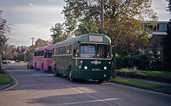 Town And Country (Deepgreen2009) Tags: regalfour rf london bus transport old epsom town country green red surrey classic 1950s restoration preserved