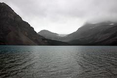 Bow Lake on a Rainy Day (JB by the Sea) Tags: banff banffnationalpark alberta canada september2019 rockies rockymountains canadianrockies icefieldsparkway highway93 bowlake