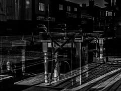 Cleethorpes, Lincolnshire (Reynard_1884) Tags: seasideresort micro43rds mono thebobbin pub lincolnshire seafront coast uk olympusomd olympusomdem5 olympus england tablechairs greatbritain cleethorpes blackwhite table blackandwhite mirrorless monotone riverhumber microfourthirds shadows trafficlights beach seaside monochrome artinbw chairs bw northeastlincolnshire mu43 reflections silverefexpro2 em5 coastaltown bar