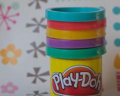 mm lids 07 PLAYDOUGH (1 of 1) (beckcorbin) Tags: macro lids playdough