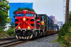 Assault on CP 1 (BravoDelta1999) Tags: ferromex fxe railroad csxt csx transportation newyorkcentral nyc railway bigfour cccstl indianapolisline indianapolis indiana ge es44ac 4619 q131 intermodal train