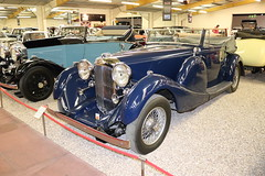 Lagonda LG45 DHC SFF402 (Andrew 2.8i) Tags: museum classics classic autos auto voitures voiture cars car sparkford somerset uk haynes british tourer open cabriolet convertible dhc dropheadcoupe prewar 45 lg lg45 lagonda 1937 sff402