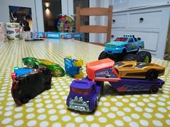 Hotwheels (daveandlyn1) Tags: toys cars truck hotwheels setup pralx1 p8lite2017 pscamera cameraphone huaweip8