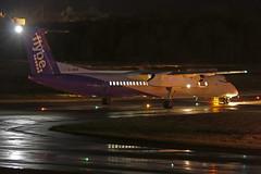 Dash 8 G-JECP FlyBE - Edinburgh Airport 15/11/19 (robert_pittuck) Tags: dash 8 gjecp flybe edinburgh airport 151119