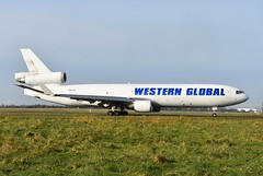 N581JN MD11F Western Global (corrydave) Tags: 48581 md11 md11f westernglobal shannon n581jn
