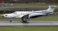 OY-AWH (PrestwickAirportPhotography) Tags: egpk prestwick airport pilatus pc12 oyawh