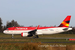 A320-214 N676AC ex PR-ONS AVIANCA BRASIL old colours 2 (shanairpic) Tags: jetairliner passengerjet a320 airbusa320mshannon avianca austrianairlines prons n676ac oelze