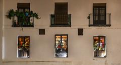 La Tabernilla del Darro (ricardocarmonafdez) Tags: granada andalucía ventanas windows fachada facade nightshot urbanscape lighting simetría symmetry composition composición mood nikon d850 24120f4gvr ricardocarmonafdez ricardojcf