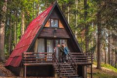 Forest house (alexzanderII) Tags: alpine house bulgaria fiance forest 50mm